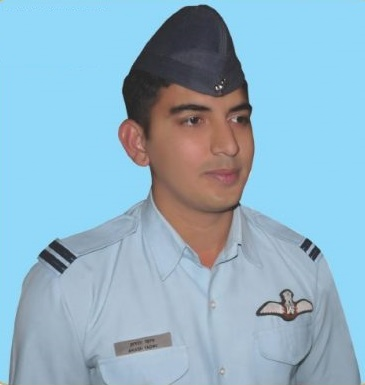 Aksh Yadav in Uniform