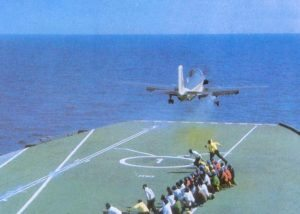 INS launches an Alize aircraft